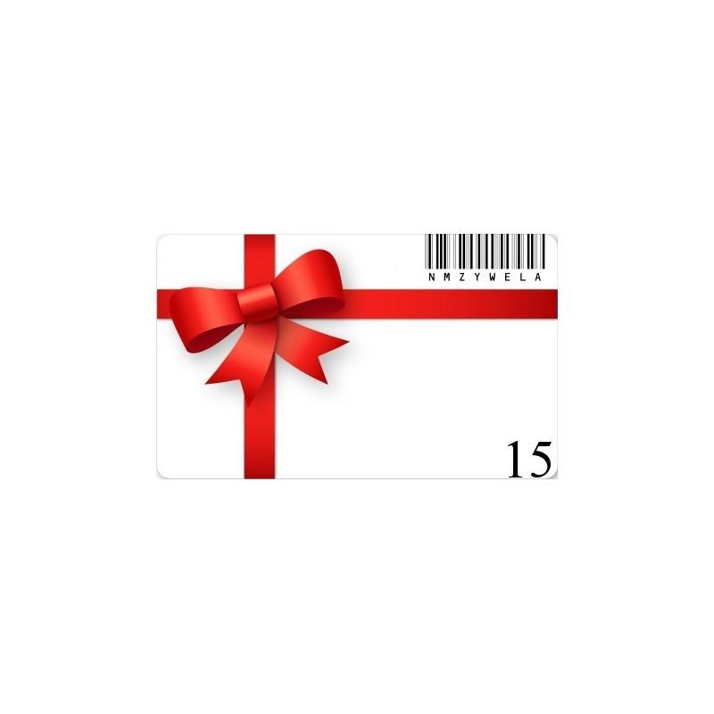 Carte cadeaux 15€