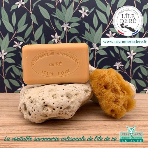 Savon parfum agrumes 100 g de la savonnerie de l'ile de ré