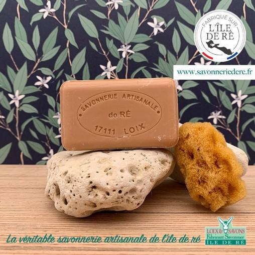 Savon parfum cannelle 100 g de la savonnerie de l'ile de ré