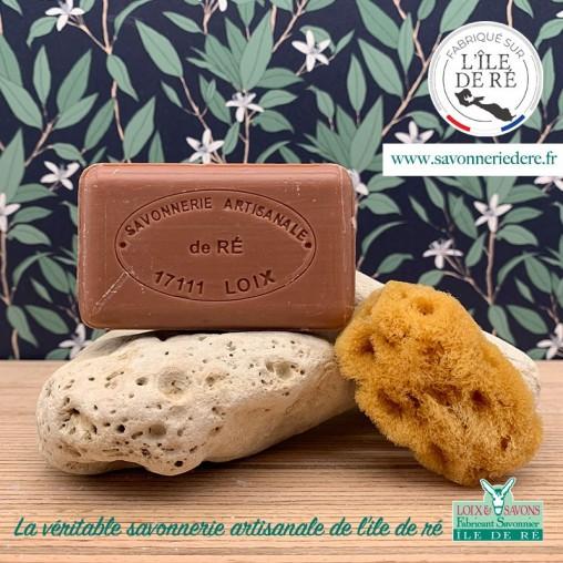 Savon parfum chocolat 100 g de la savonnerie de l'ile de ré
