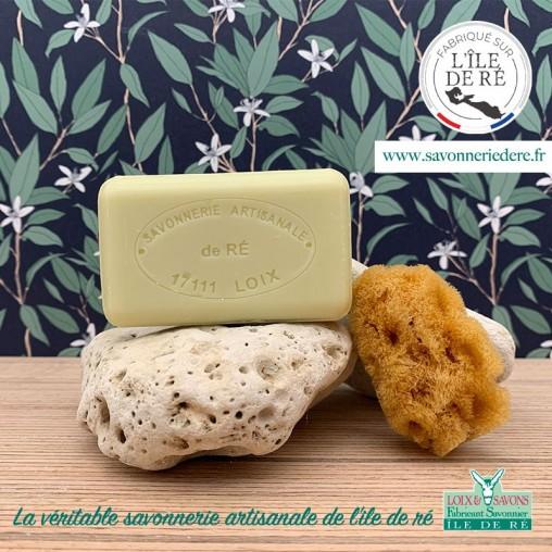 Savon parfum mimosa 100 g de la savonnerie de l'ile de ré
