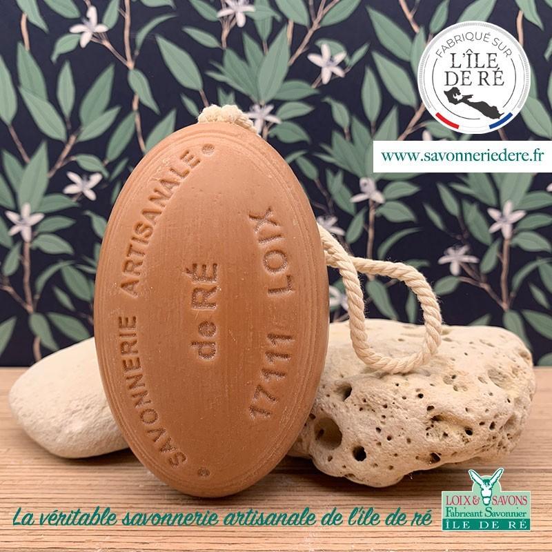 Savon ficelle parfum caramel 200g - Savonnerie de Ré de l'ile de re