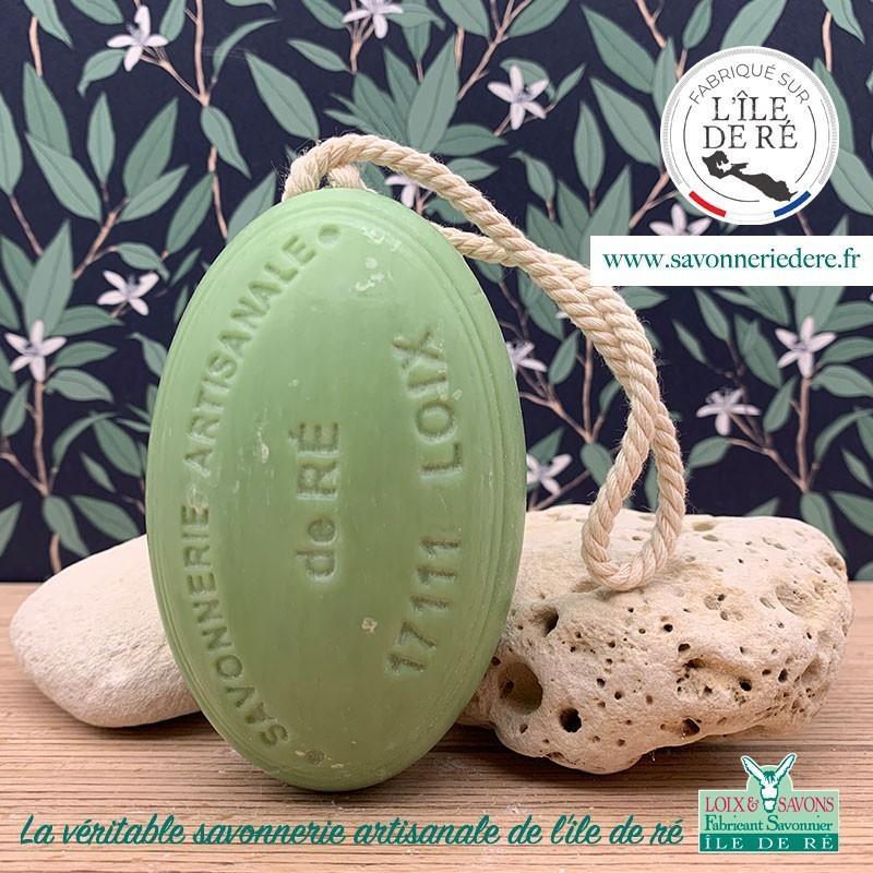 Savon ficelle parfum olives 200g - Savonnerie de Ré de l'ile de re