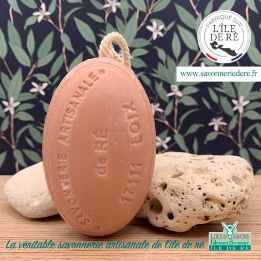 Savon ficelle parfum santal 200g - Savonnerie de Ré de l'ile de re