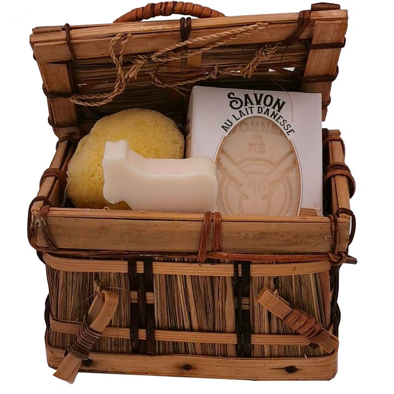 Coffret aux ânesses - savonnerie de l'ile de ré loix et savons