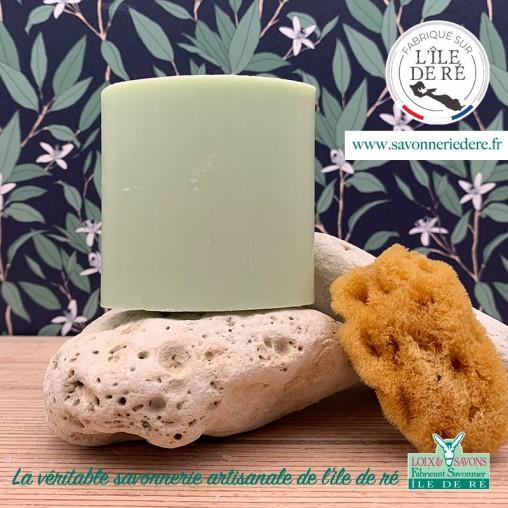 Savon au thym - 150 g - savonnerie artisanale de l'ile de ré