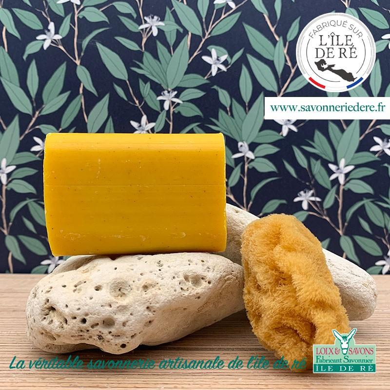 Savon curcuma - 100 g - savonnerie artisanale de l'ile de ré