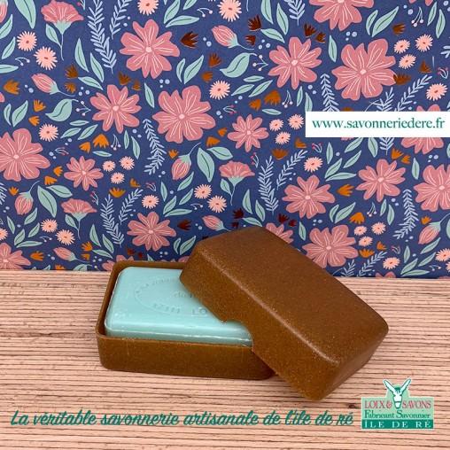 Boite à savon en bois liquide - Savonnerie artisanale de l'ile de ré