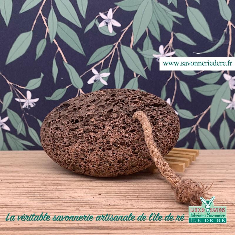 Pierre ponce naturelle - Savonnerie artisanale de l'ile de ré