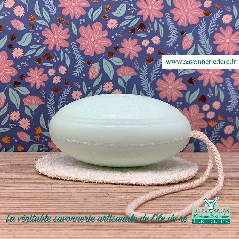 Porte savon loofa - Savonnerie artisanale de l'ile de ré
