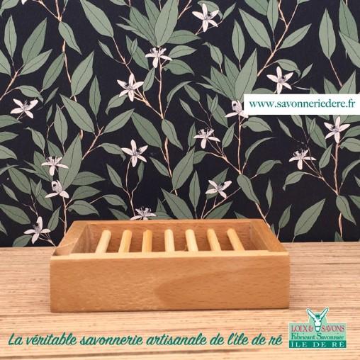 porte savon peuplier - savonnerie de l'ile de ré - loix et savons