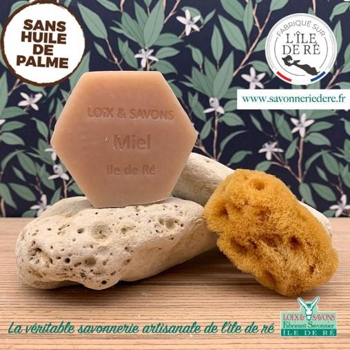 Savonnerie artisanale de l'ile de re savon au miel