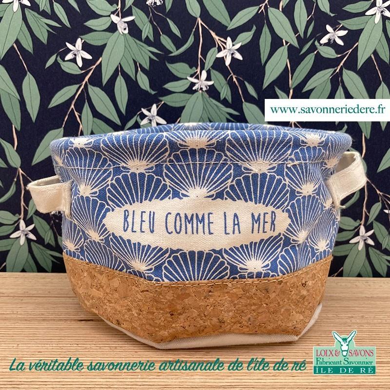 Corbeille liege - savonnerie de l'ile de ré