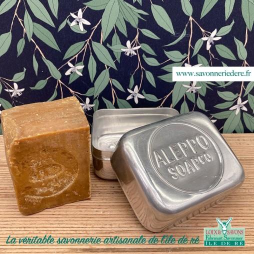 Boite à savon Alep - savonnerie de l'ile de re