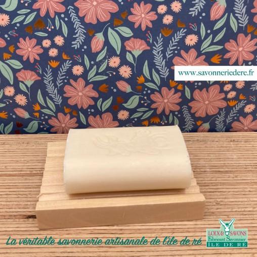 Porte savon en bois - savonnerie de l'ile de ré