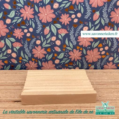 Porte savon en bois - savonnerie de l'ile de re