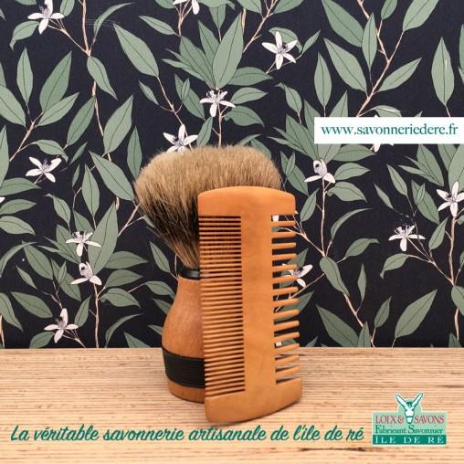 Peigne à barbe Bambou - savonnerie de l'ile de ré