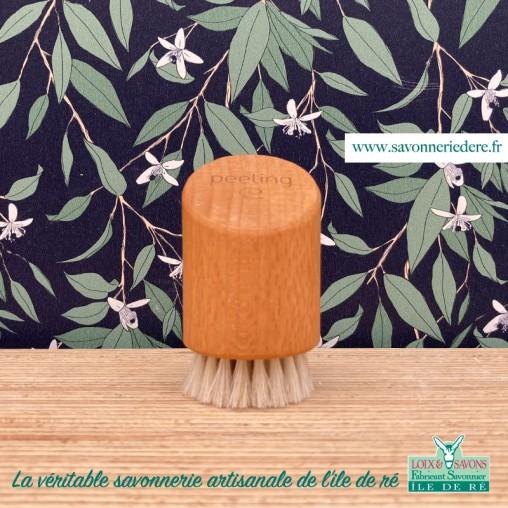 Brosse peeling face - savonnerie de l'ile de ré