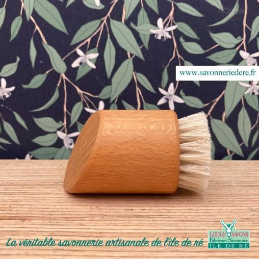 Brosse peeling profil - savonnerie de l'ile de re