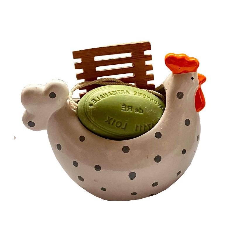 Grande cocotte-savonnerie de l'ile de re