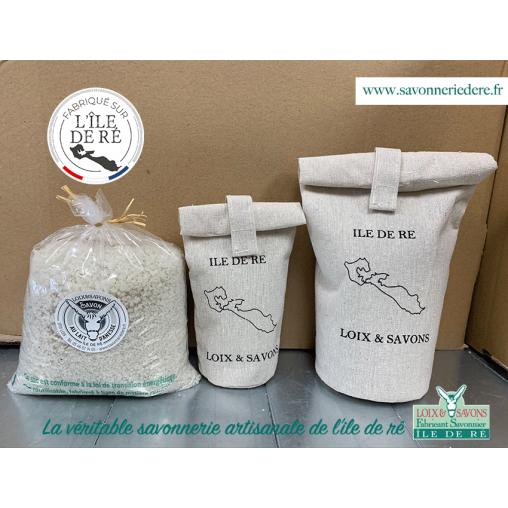 véritable sel des marais salant de l'ile de re