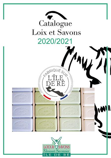 catalogue papier savonnerie de l'ile de ré