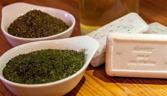 Savon avec les algues de l'ile de Ré